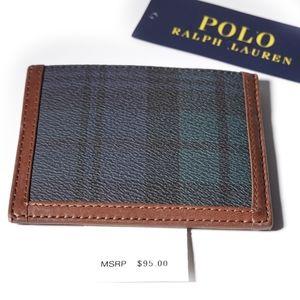 POLO RALPH LAUREN BW HERITAGE CARD CASE